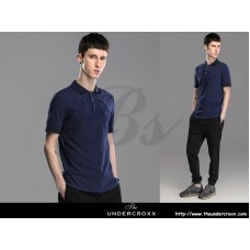 Lilbetter Slim Lapel Cotton Embroidery Polo