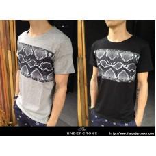 TheUndercroxx 3061S Python Print Fashion Tee