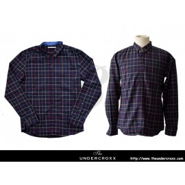 TheUndercroxx 6049L x Deer Collar  x Checked Shirt
