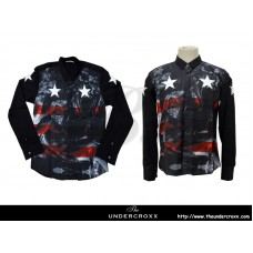 TheUndercroxx 6065L x Star Print Shirt