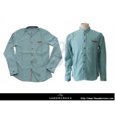 TheUndercroxx 6028L x Custom Tailor Pocket Green Shirt