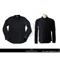 TheUndercroxx 6058L x Python Collar Black Shirt